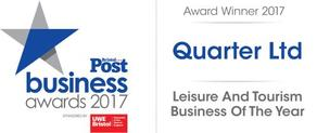 Quater LTD Bristol Post Business Awards