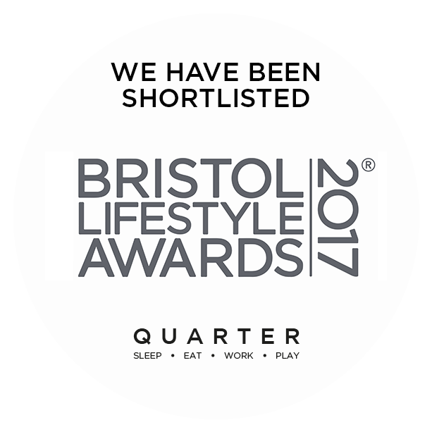 Bristol Lifestyle Awards Shortlisted 2017